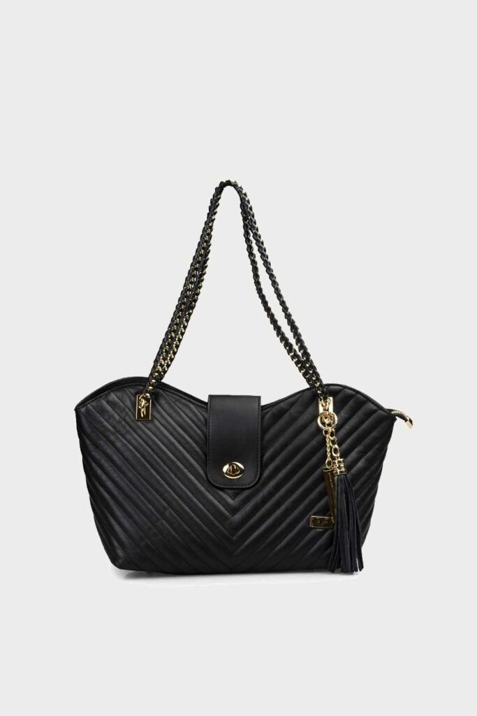 spiridoula metheniti shoes xalkida p aw19 7662 black handbag chains 19v69