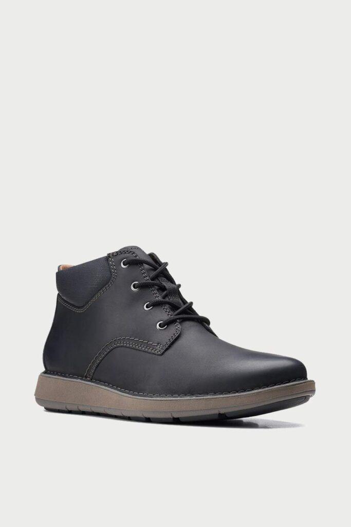spiridoula metheniti shoes xalkida p un larvik top black oily leather clarks 2