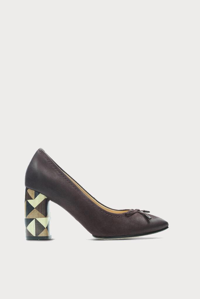 spiridoula metheniti shoes xalkida p Grace Nina clarks Aubergine 1