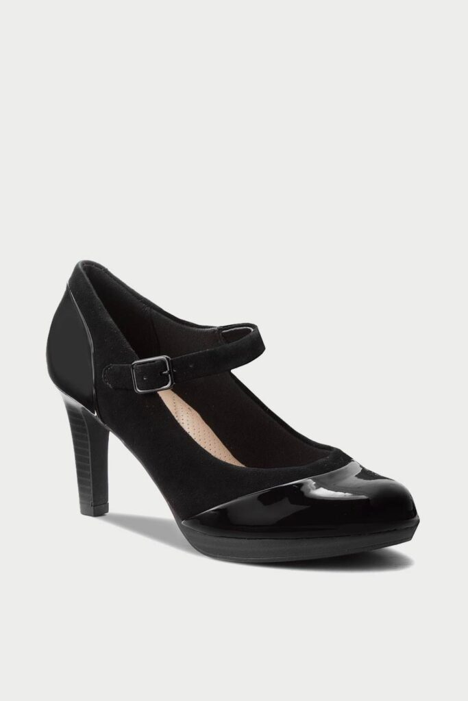 spiridoula metheniti shoes xalkida p adriel carla black combi leather clarks 2