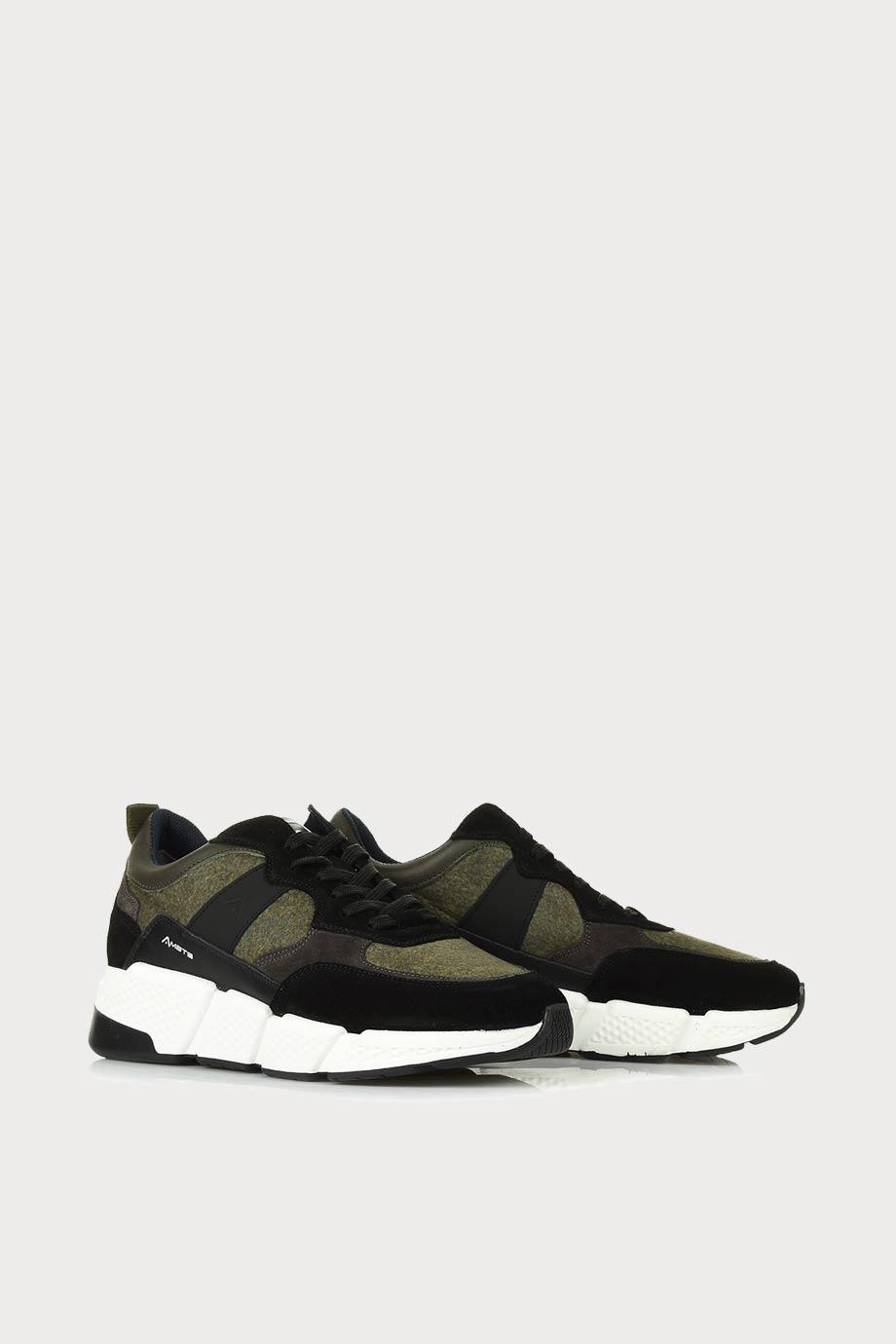 spiridoula metheniti shoes xalkida p ash 0W1 080 113 black kaki sneakers ambitious 3