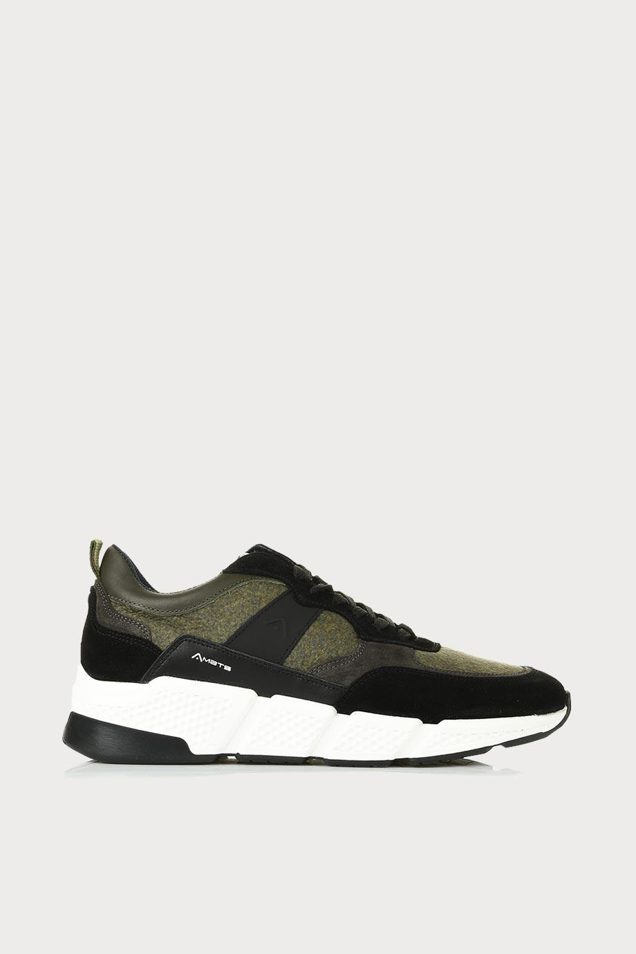 spiridoula metheniti shoes xalkida p ash 0W1 080 113 black kaki sneakers ambitious