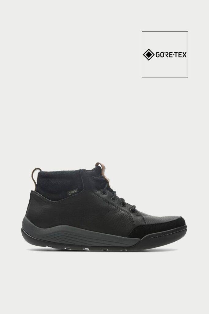 spiridoula metheniti shoes xalkida p ashcombe mid gtx black leather clarks