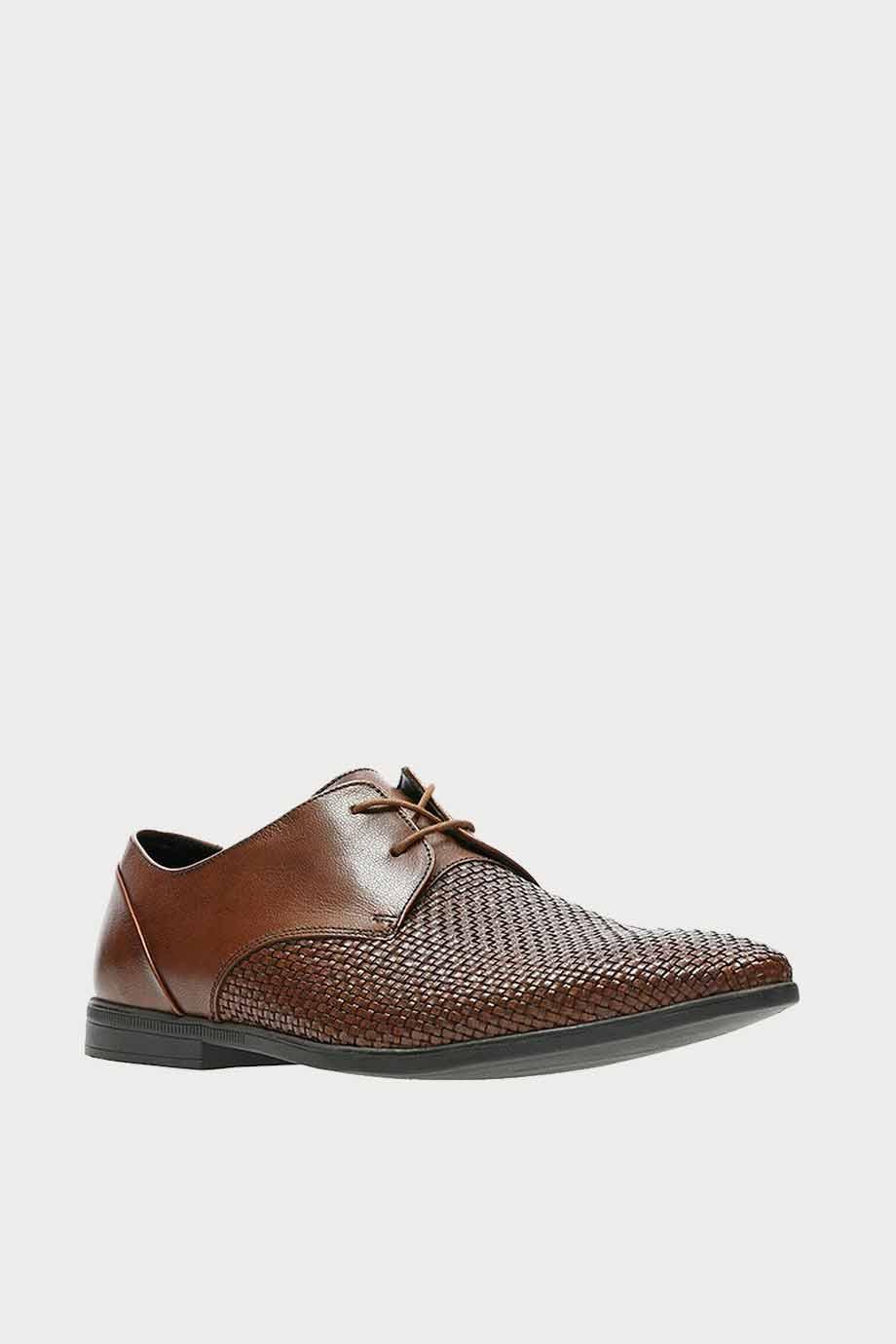 spiridoula metheniti shoes xalkida p bampton weave tan leather clarks 6