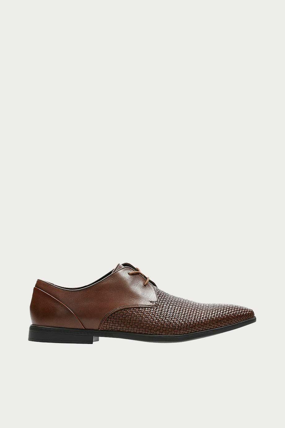 spiridoula metheniti shoes xalkida p bampton weave tan leather clarks 7