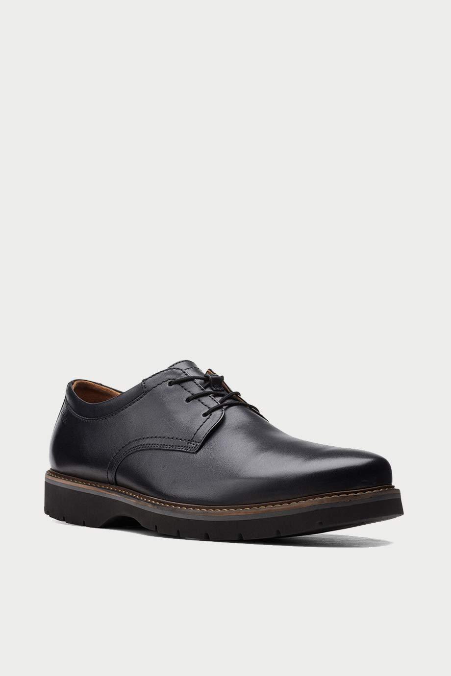 spiridoula metheniti shoes xalkida p bayhill plain black leather clarks 2