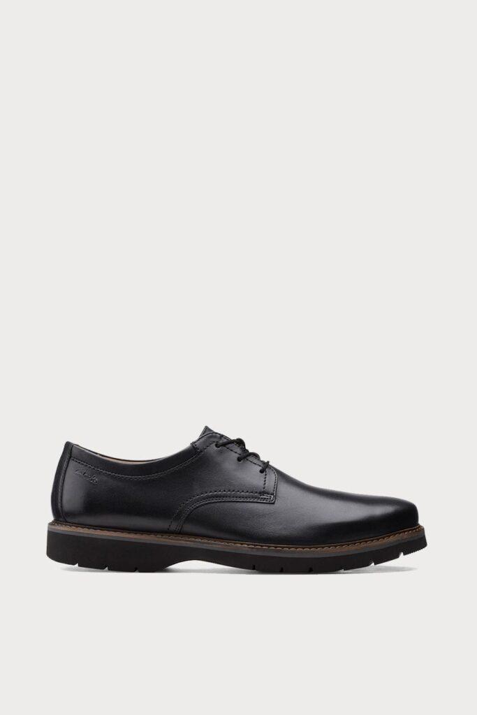 spiridoula metheniti shoes xalkida p bayhill plain black leather clarks