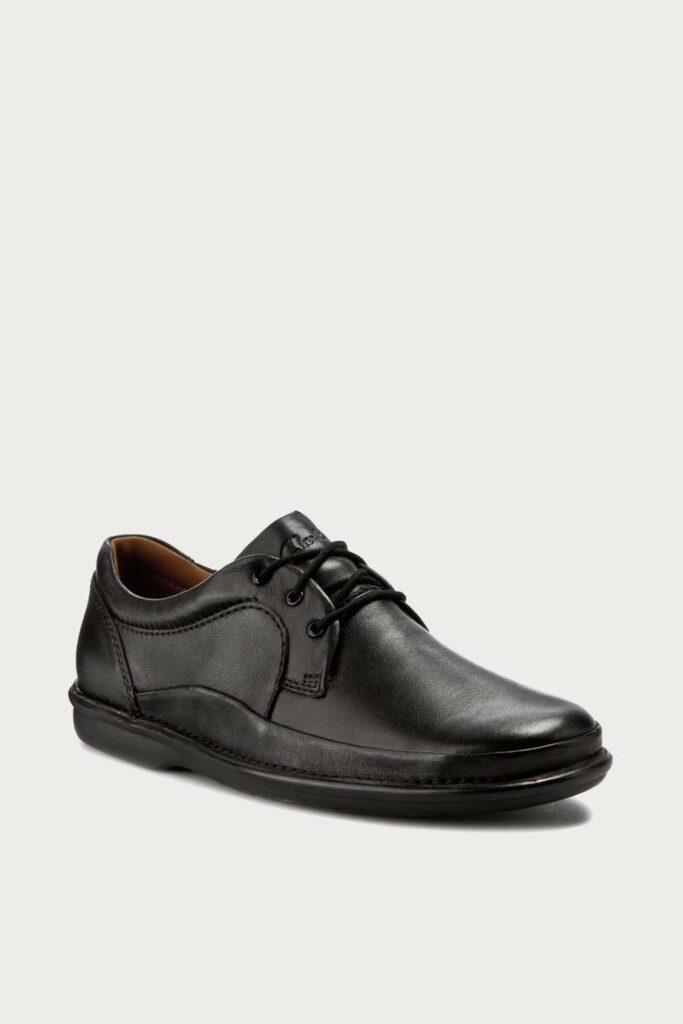 spiridoula metheniti shoes xalkida p bytleigh edge black leather clarks