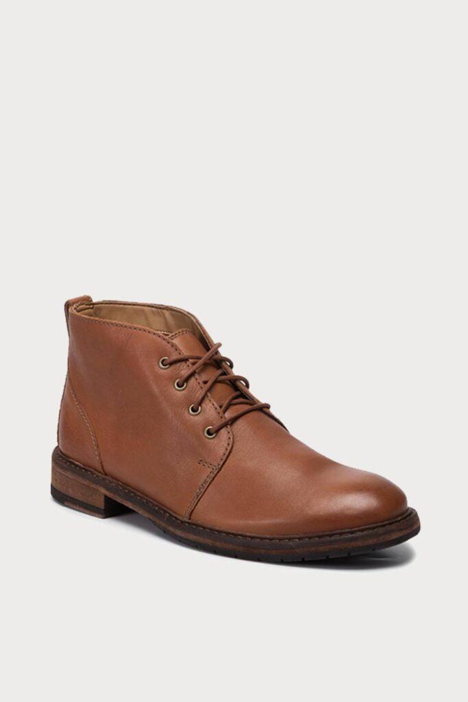 spiridoula metheniti shoes xalkida p clarkdale base dark tan leather clarks 2