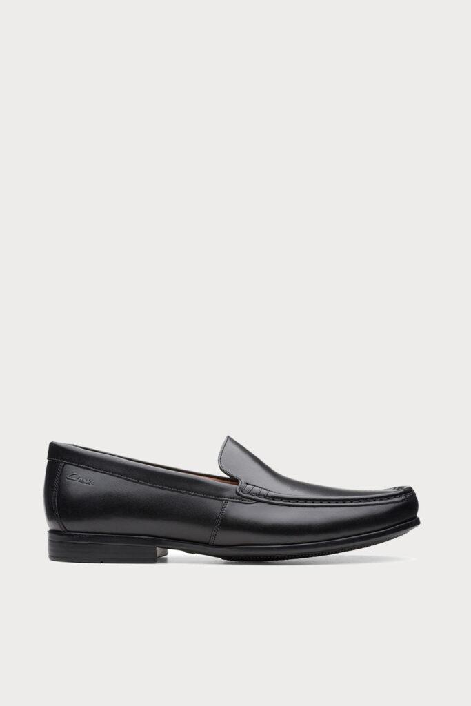 spiridoula metheniti shoes xalkida p claude plain black leather clarks