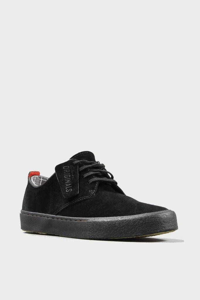 spiridoula metheniti shoes xalkida p desert vulclo black suede clarks originals 4 1