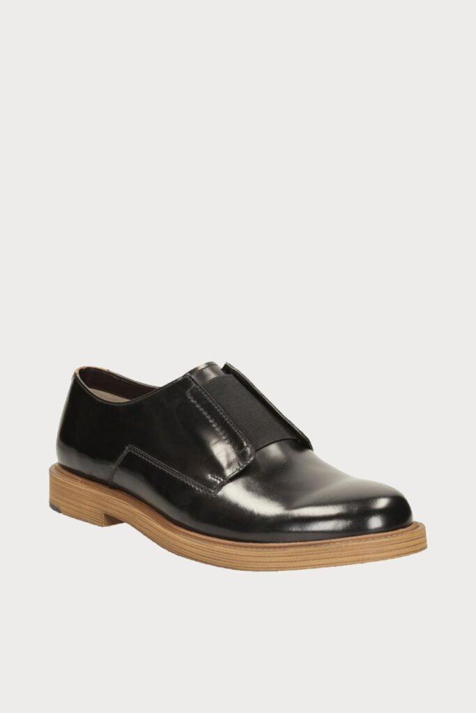 spiridoula metheniti shoes xalkida p feren slip black leather clarks 2 1