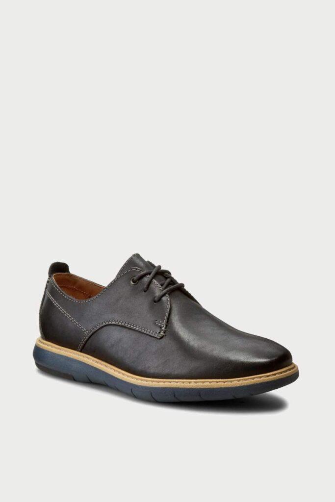 spiridoula metheniti shoes xalkida p flexton plain black leather clarks 2