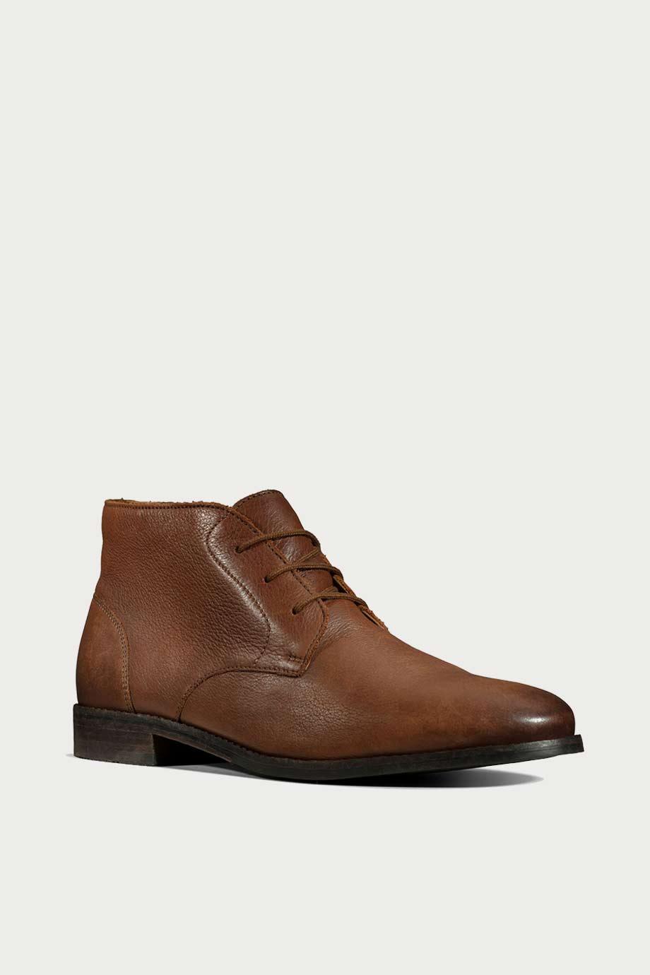 spiridoula metheniti shoes xalkida p flow top british tan leather clarks 2