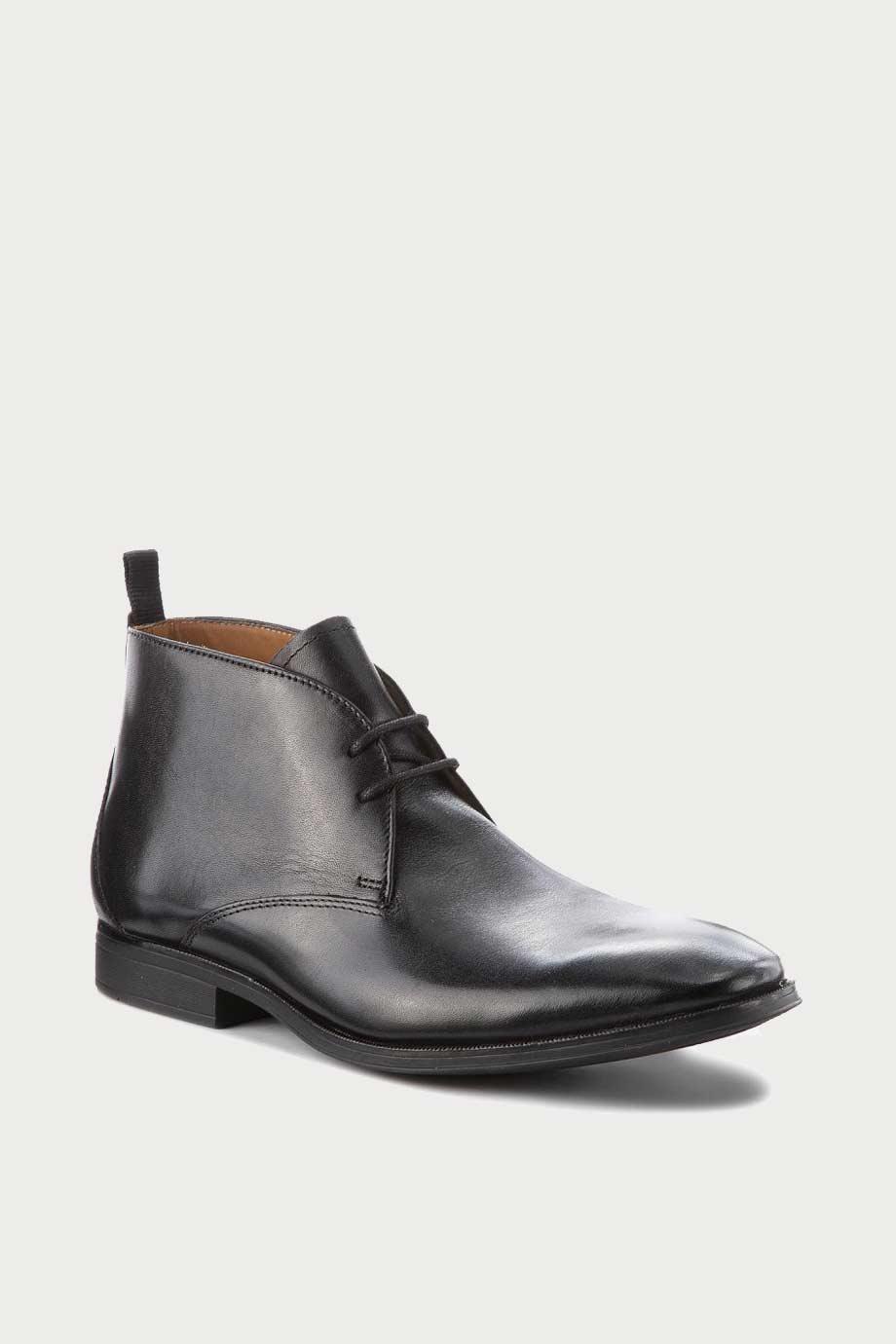 spiridoula metheniti shoes xalkida p gilman mid black leather clarks 2