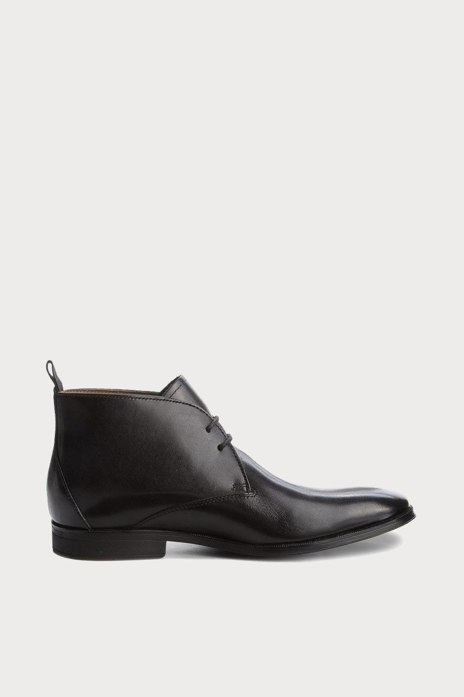 spiridoula metheniti shoes xalkida p gilman mid black leather clarks