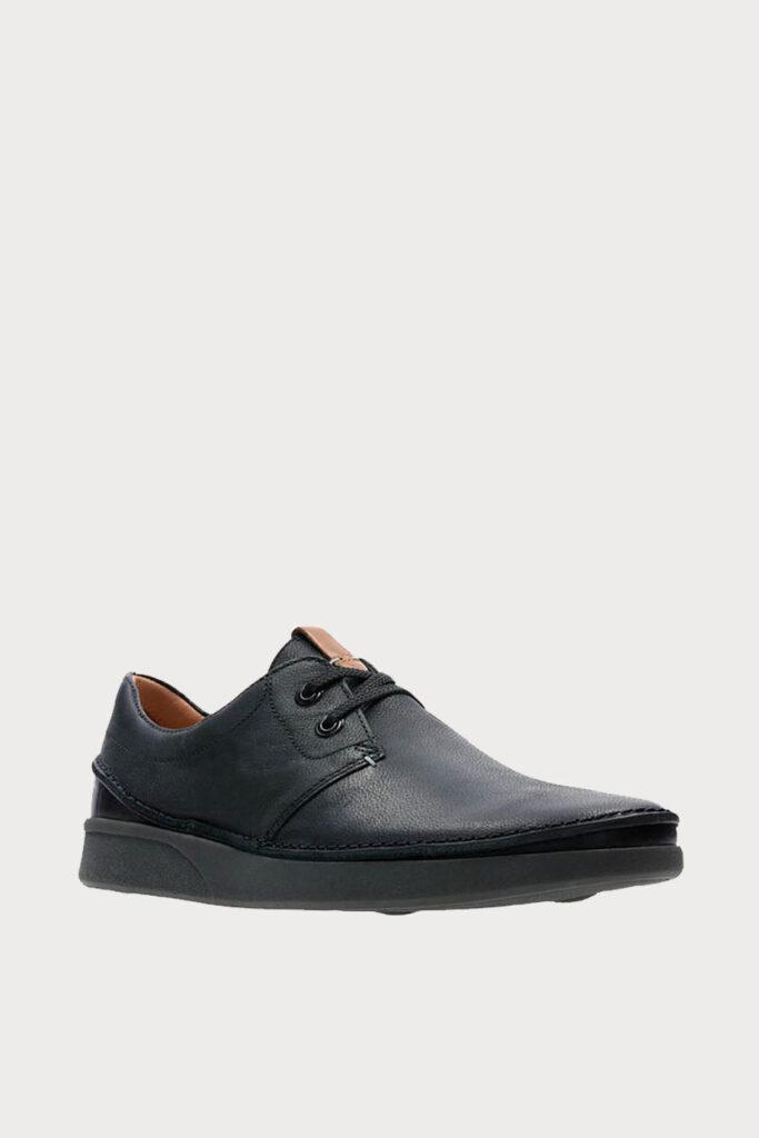 spiridoula metheniti shoes xalkida p oakland lace black leather clarks 5 2