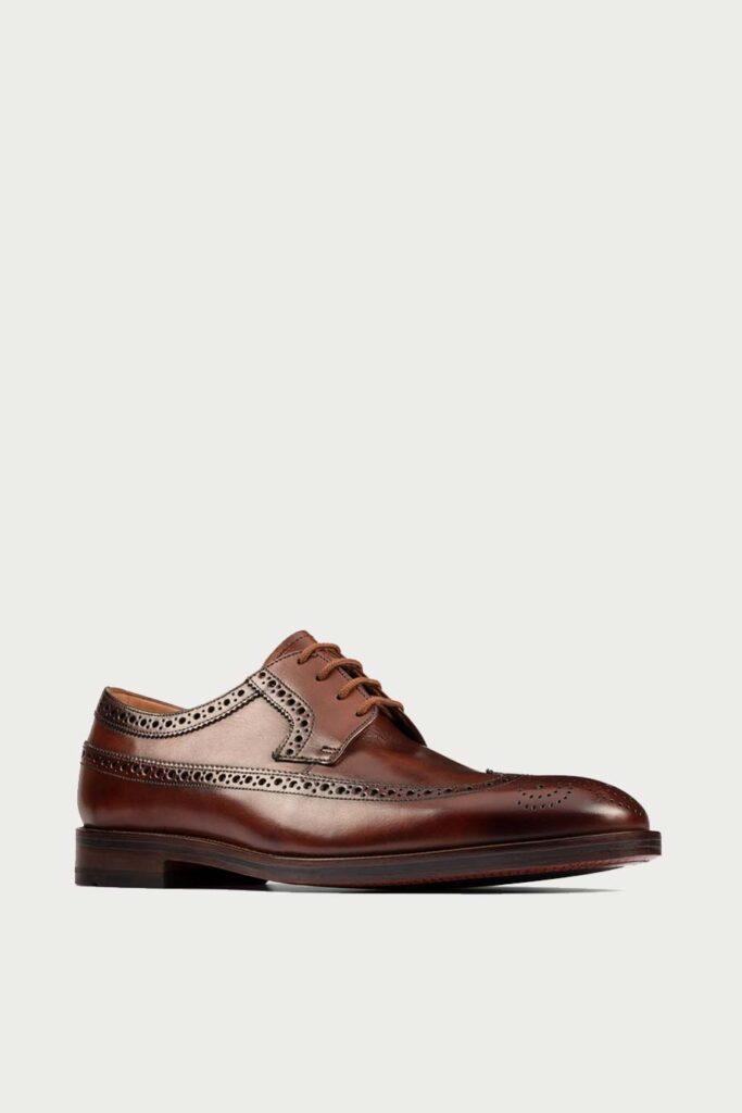spiridoula metheniti shoes xalkida p oliver wing dark tan leather clarks 2