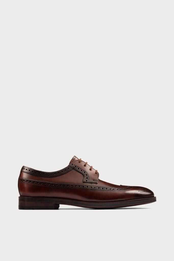 spiridoula metheniti shoes xalkida p oliver wing dark tan leather clarks