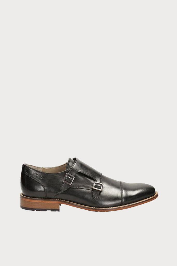 spiridoula metheniti shoes xalkida p penton monk black leather clarks