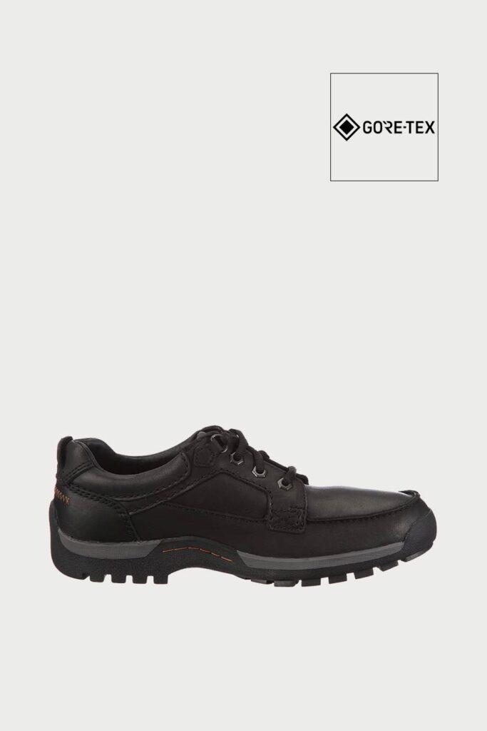 spiridoula metheniti shoes xalkida p rain tech gtx black leather clarks