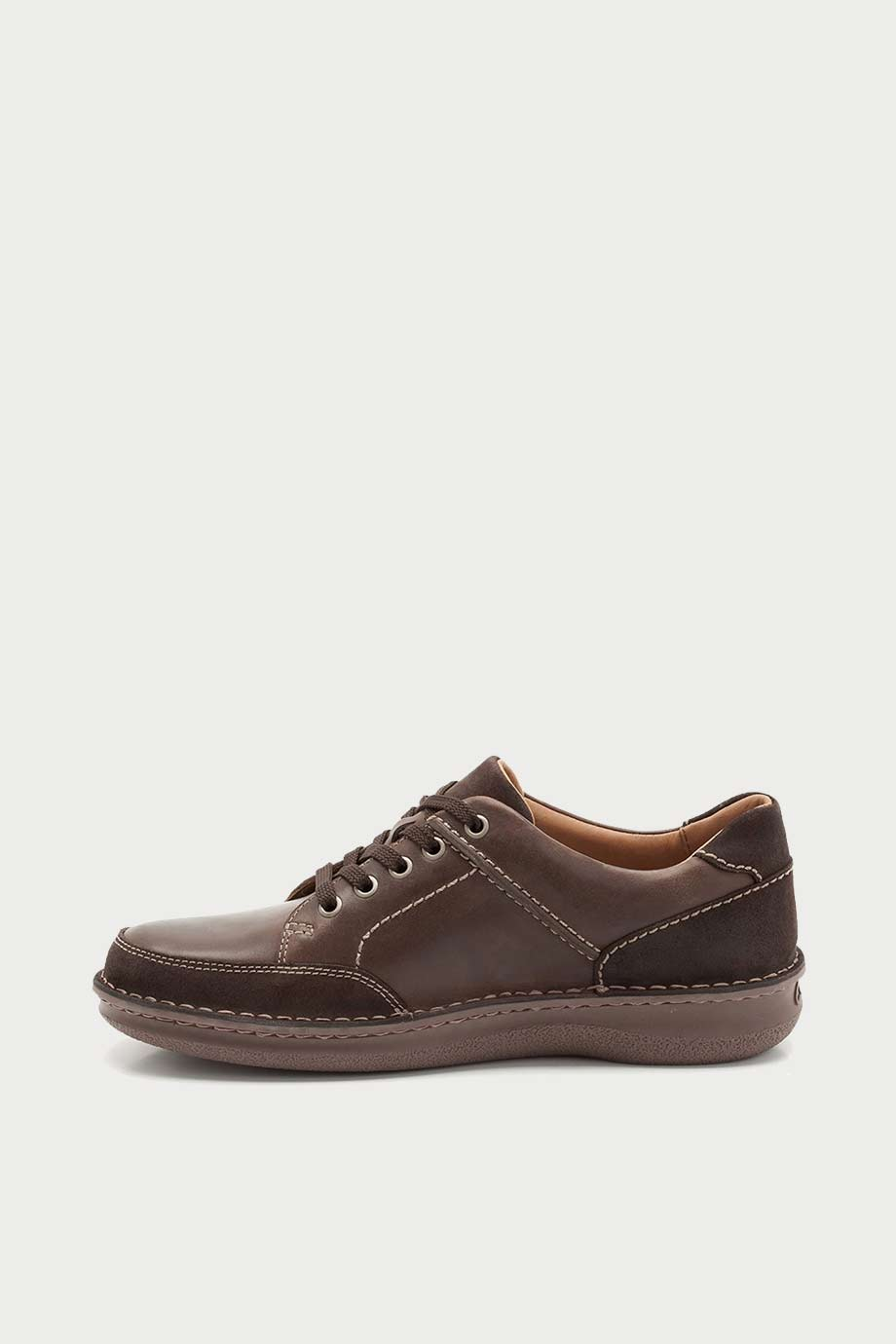 spiridoula metheniti shoes xalkida p rumwell form dark brown leather clarks 2