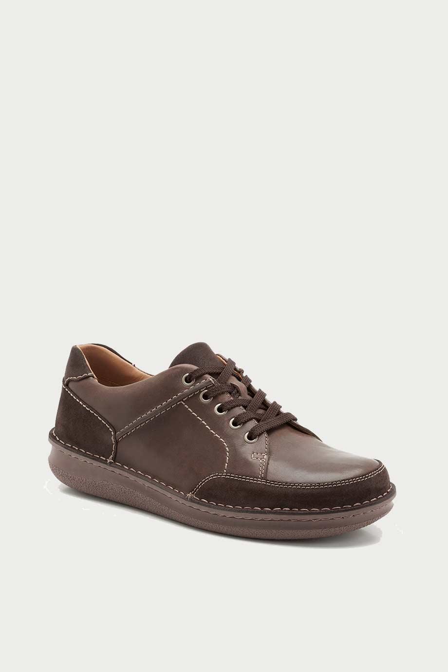 spiridoula metheniti shoes xalkida p rumwell form dark brown leather clarks 3
