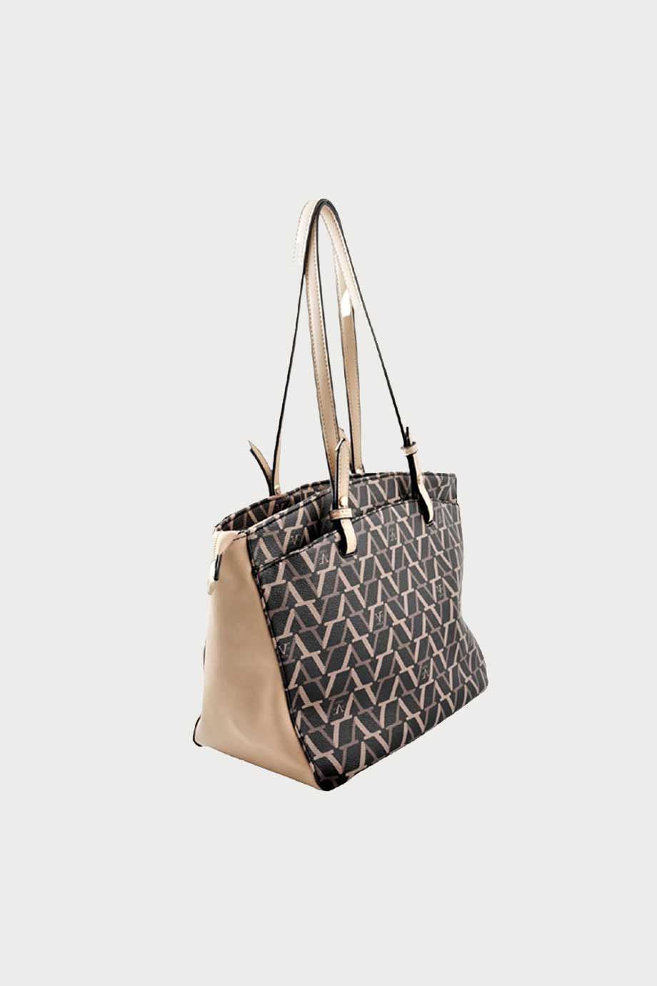 spiridoula metheniti shoes xalkida p ss20 7710v eco leather bag black beige 19v69 3