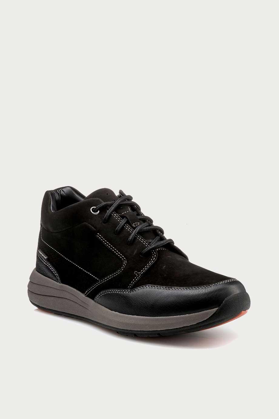 spiridoula metheniti shoes xalkida p un coast dry black nubuck clarks 2