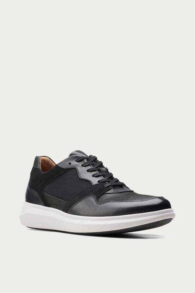 spiridoula metheniti shoes xalkida p un globe run black combi leather clarks 2