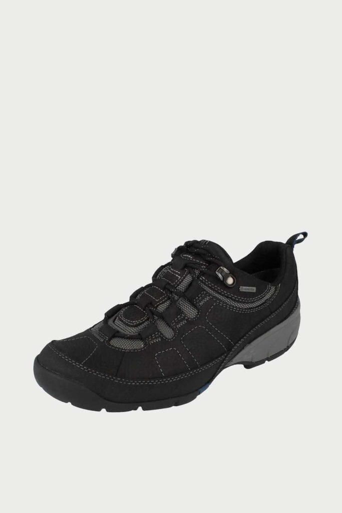 spiridoula metheniti shoes xalkida p wave pass gtx black leather clarks 5