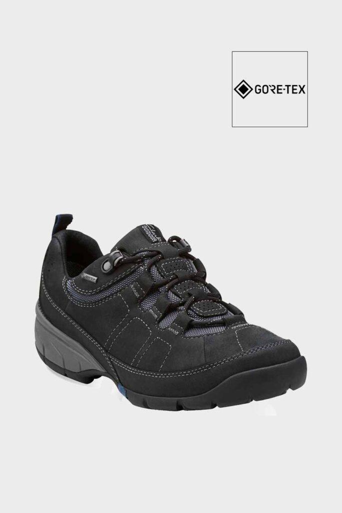 spiridoula metheniti shoes xalkida p wave pass gtx black leather clarks