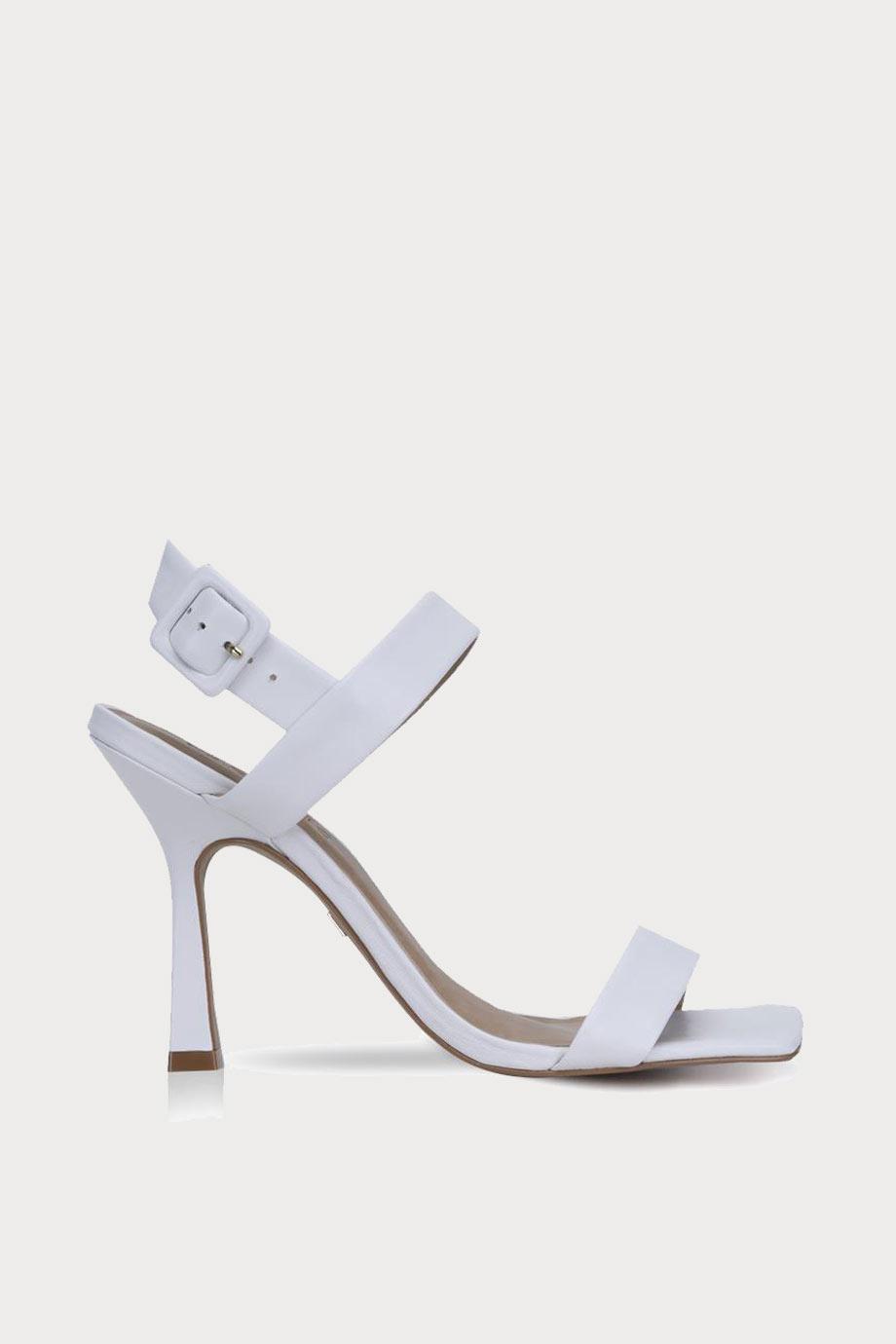 spiridoula metheniti shoes xalkida p 274016 white leather heels carrano