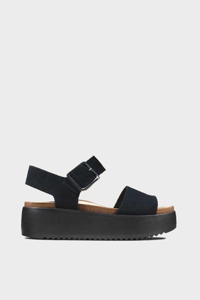 spiridoula metheniti shoes xalkida p Botanic Strap clarks black suede 1 1