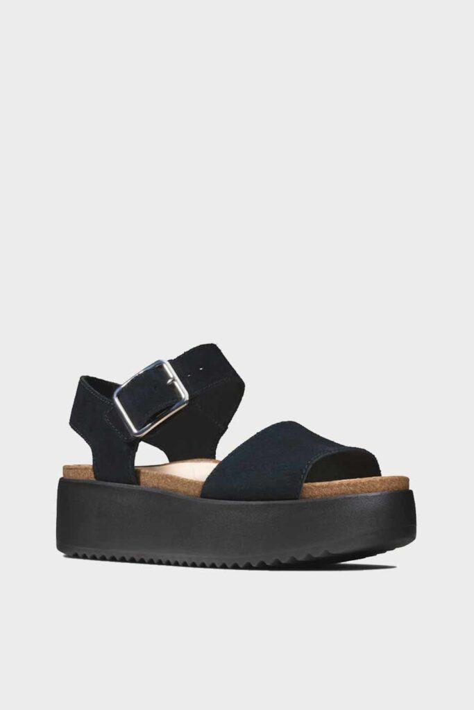 spiridoula metheniti shoes xalkida p Botanic Strap clarks black suede 2 1
