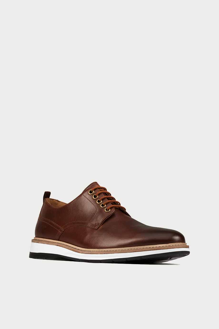 spiridoula metheniti shoes xalkida p Chantry Walk clarks dark tan lea 2