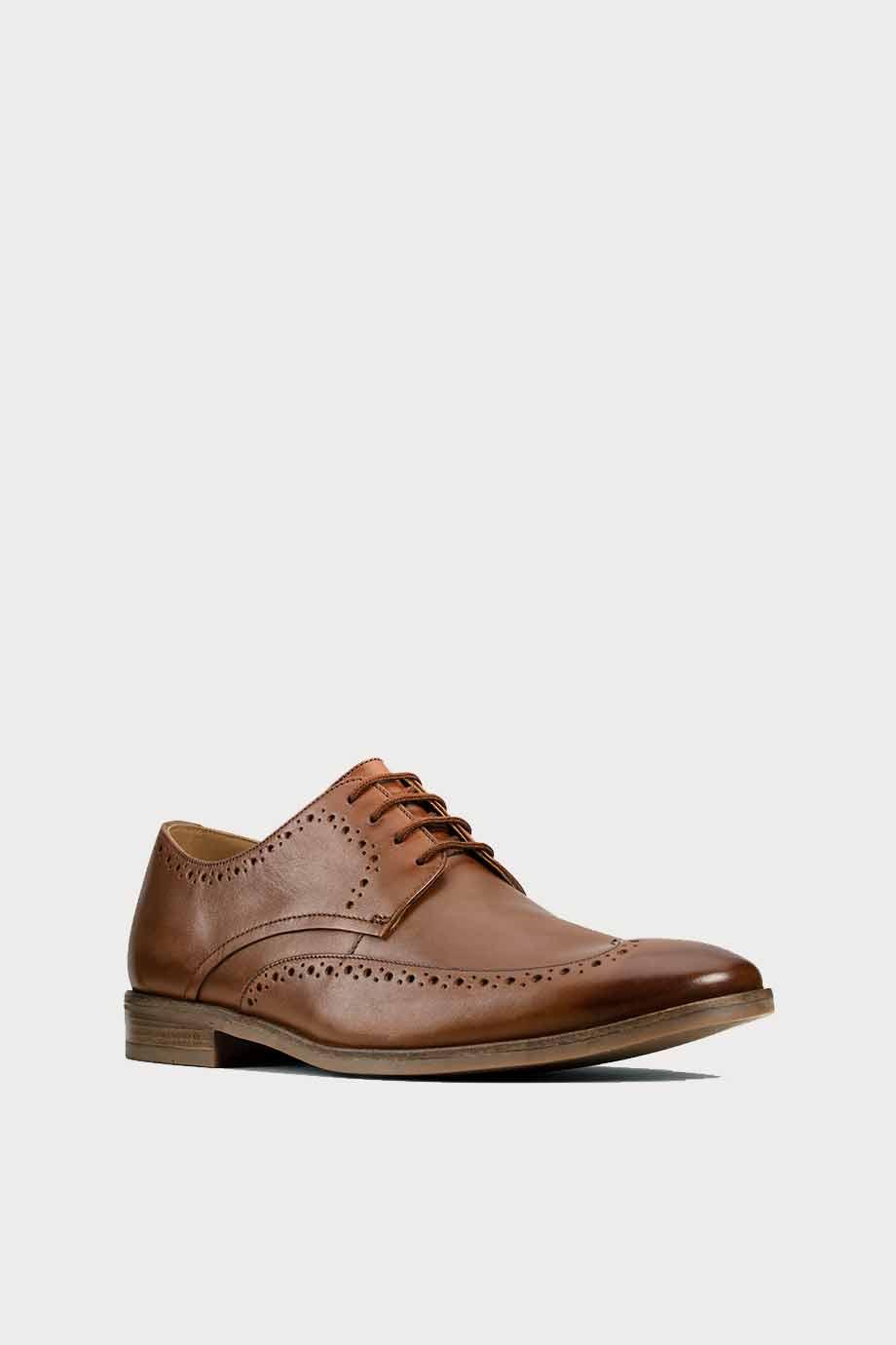 spiridoula metheniti shoes xalkida p Stanford Limit clarks tan leather 1