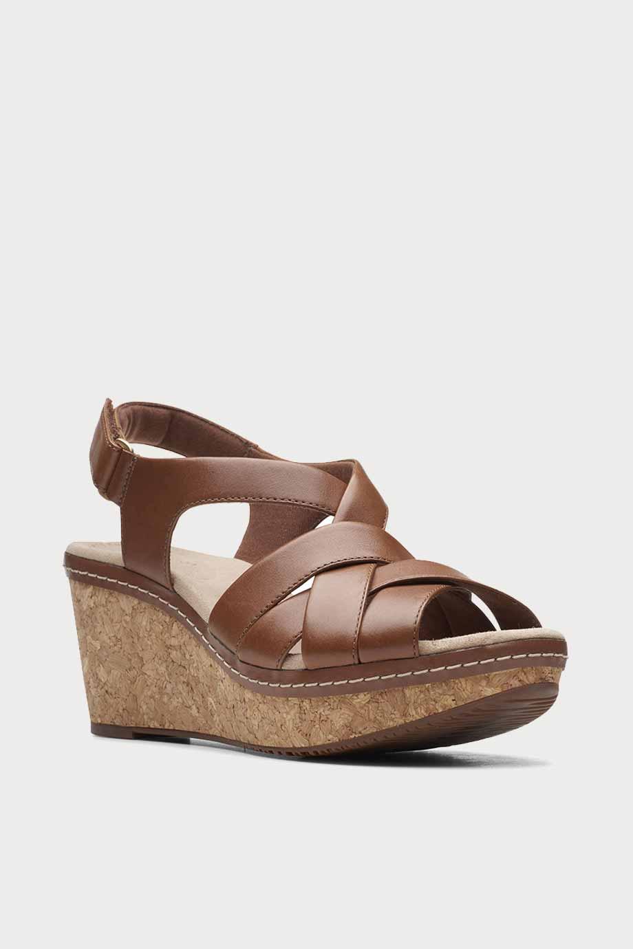 spiridoula metheniti shoes xalkida p annadel rayna dark tan leather clarks 2