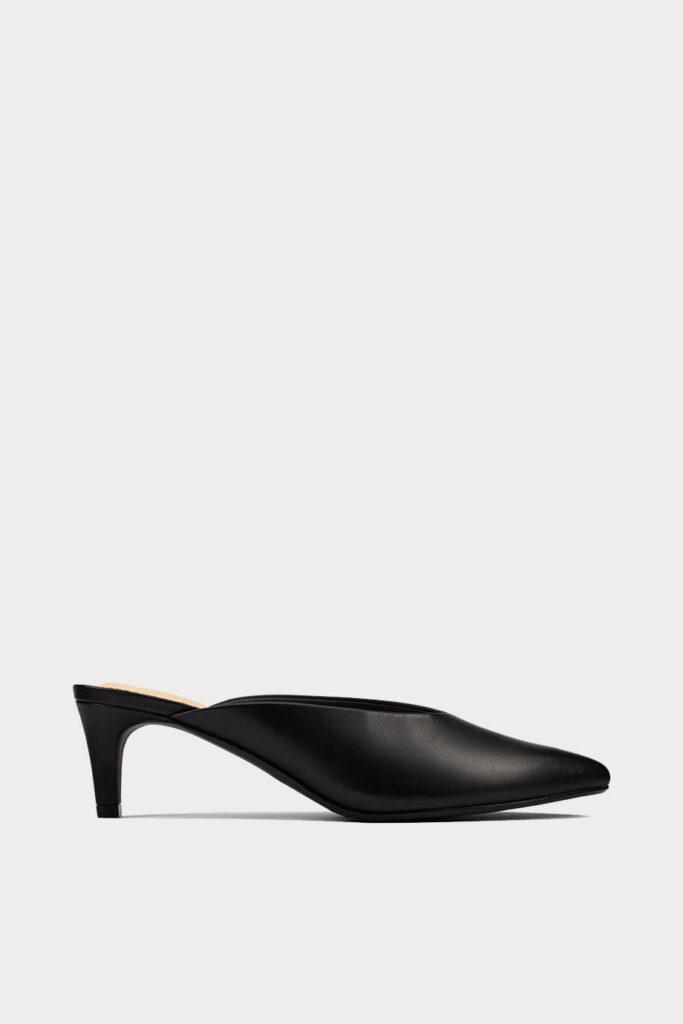 spiridoula metheniti shoes xalkida p genoa 55 mule black leather clarks