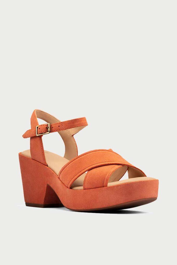 spiridoula metheniti shoes xalkida p maritsa 70 strap bright orange suede clarks 2