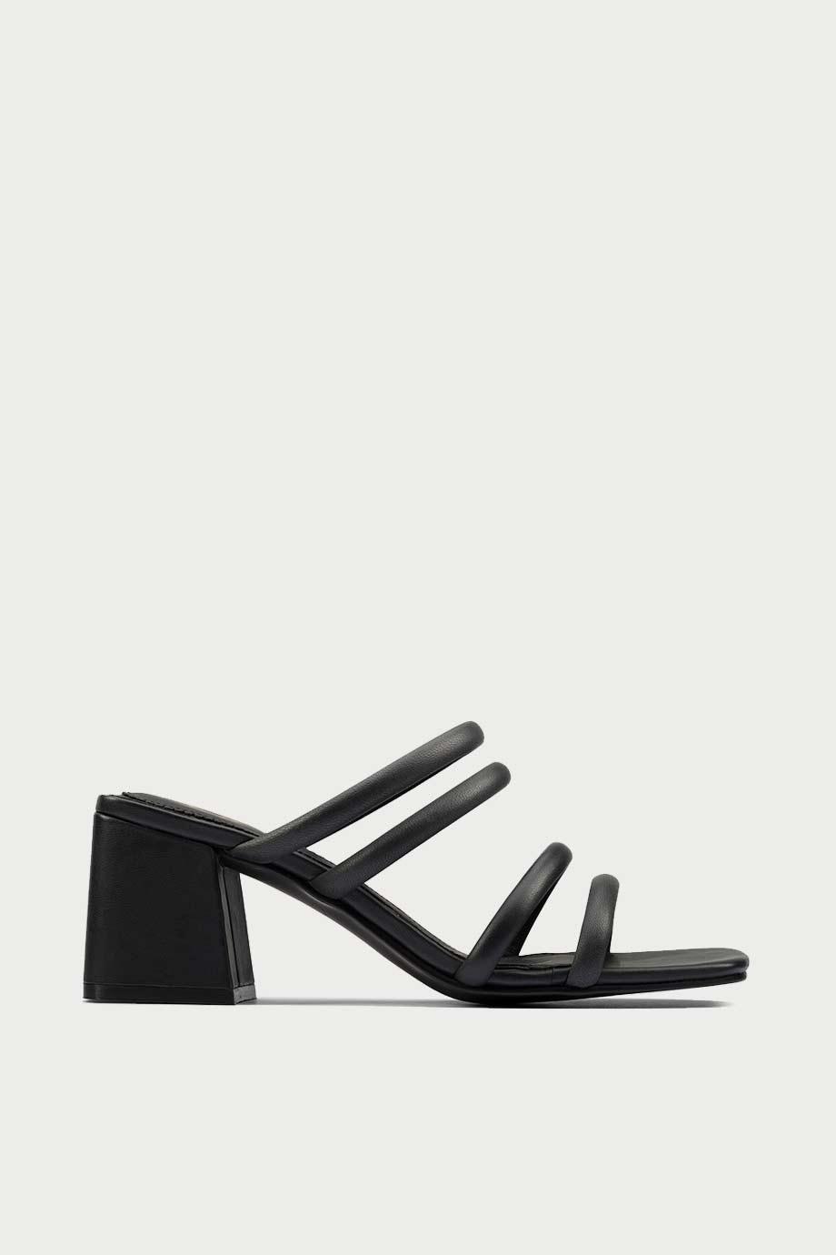 spiridoula metheniti shoes xalkida p sheer 65 mule black leather clarks