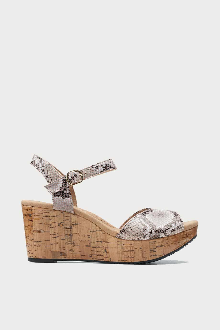 spiridoula metheniti shoes xalkida Annadel Mystic clarks natural snake 1