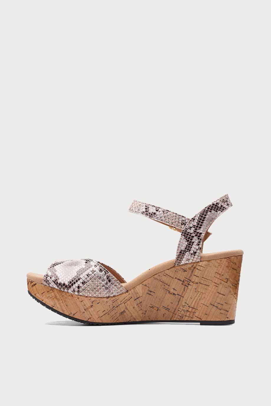 spiridoula metheniti shoes xalkida Annadel Mystic clarks natural snake 5