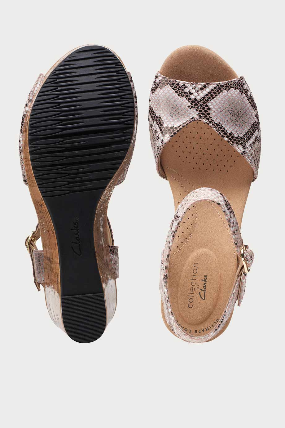 spiridoula metheniti shoes xalkida Annadel Mystic clarks natural snake 7