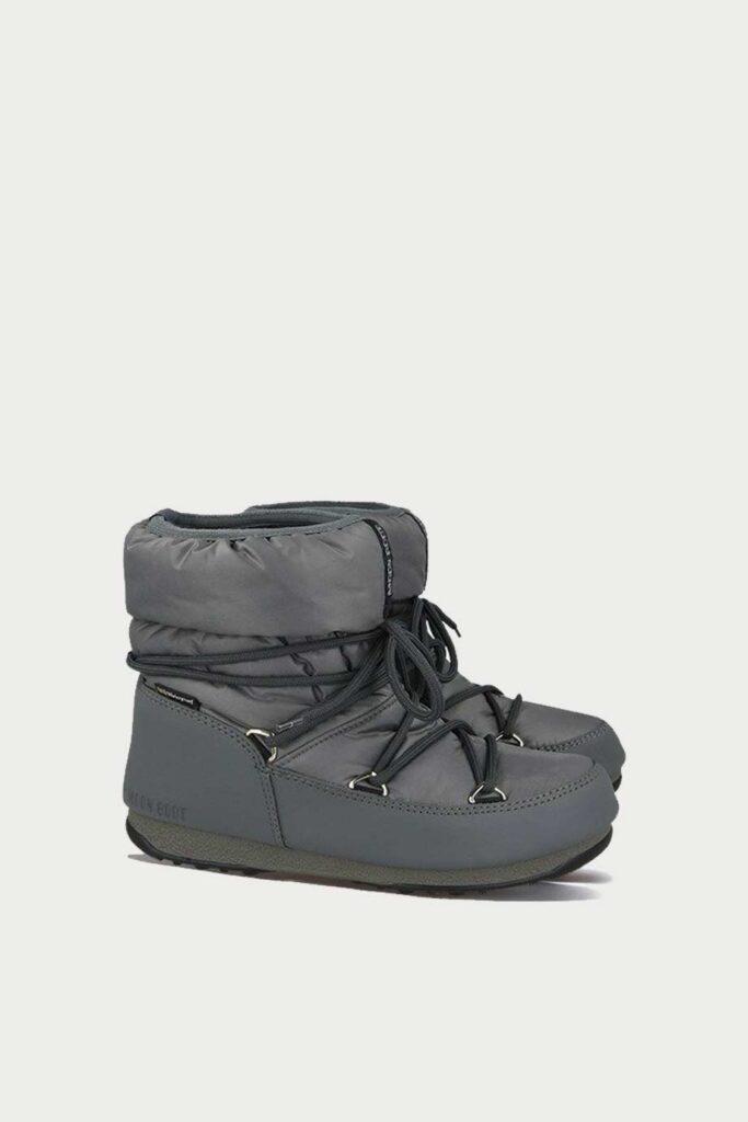 spiridoula metheniti shoes xalkida p 24009300 006 grey low laces MoonBoot 5