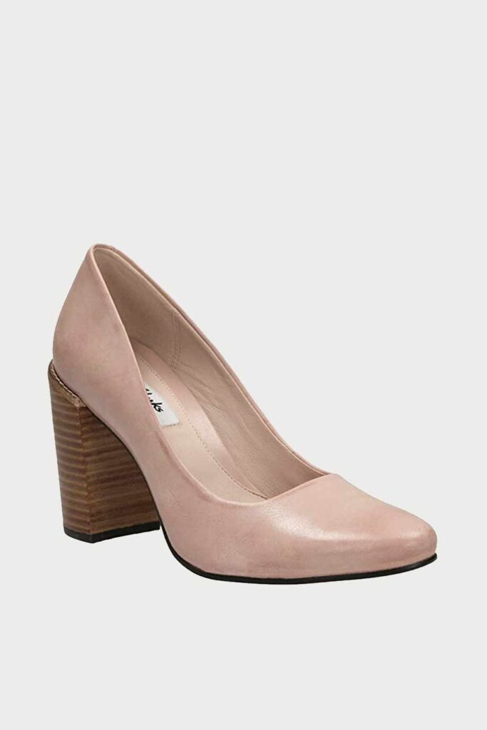 spiridoula metheniti shoes xalkida p Crumble Cream clarks dusty pink leather 3