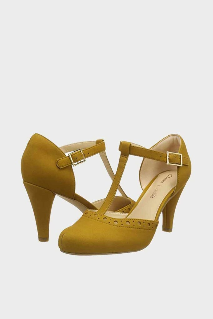 spiridoula metheniti shoes xalkida p Dalia Leah clarks Ochre Nubuck 3