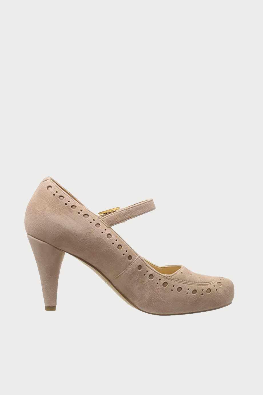 spiridoula metheniti shoes xalkida p Dalia Millie clarks praline leather 4