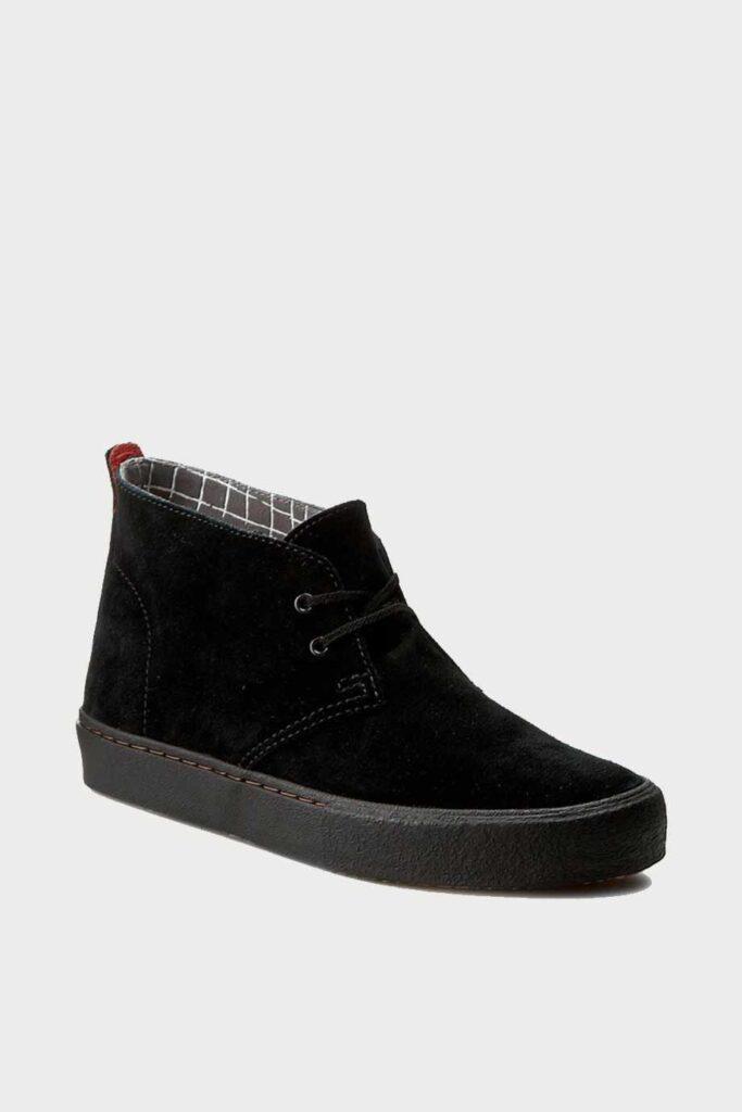 spiridoula metheniti shoes xalkida p Desert Vulc clarks blakc suede 1