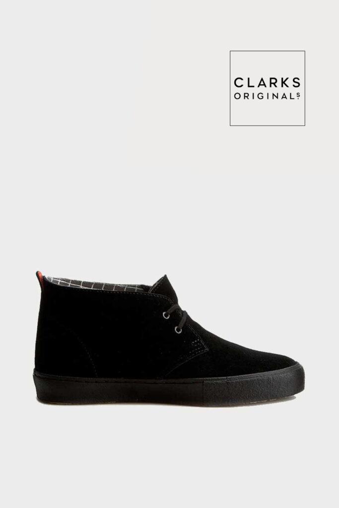 spiridoula metheniti shoes xalkida p Desert Vulc clarks blakc suede 4 1